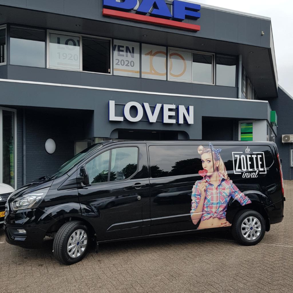 Ford Transit Custom limited - De Zoete Inval - Loven Trucks Helmond