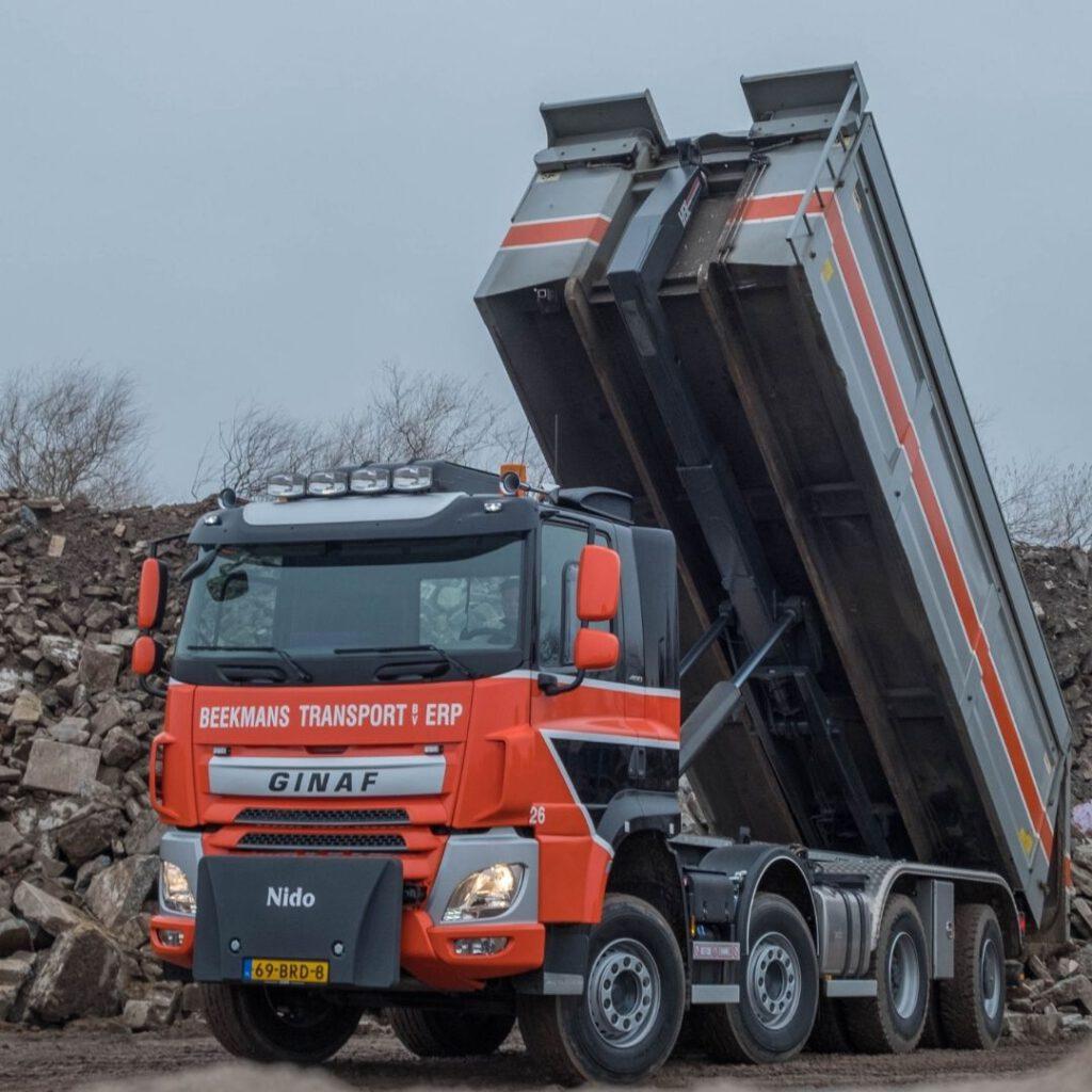 Beekmans Transport Erp - Loven Trucks Helmond - GINAF