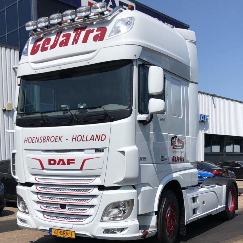 GeJaTra - Loven Trucks - DAF XF480 Super Space Cab