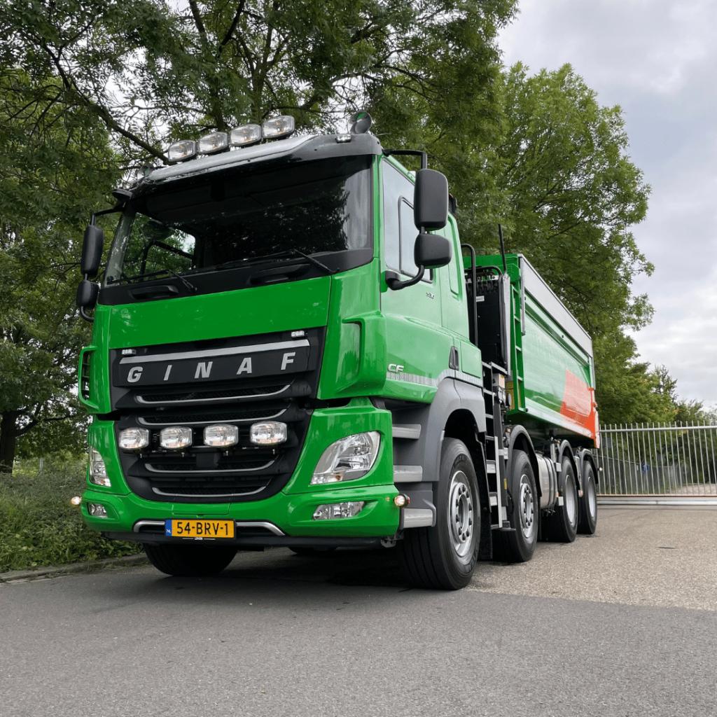 GINAF X6 4142 FD 8x2 - HCZ Transport - Loven Trucks