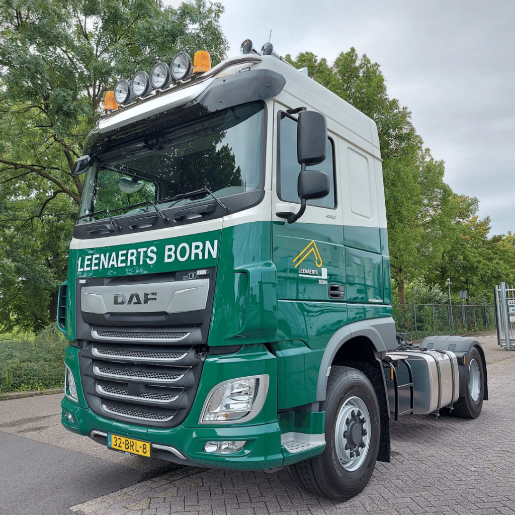 Leenaerts Transport Born B.V. - Loven Trucks - DAF XF