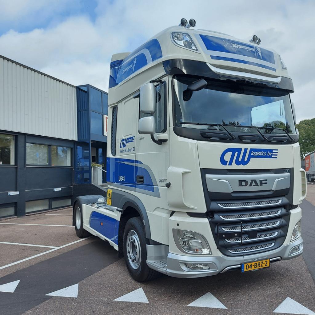 CTW Logistics - Loven Trucks - DAF